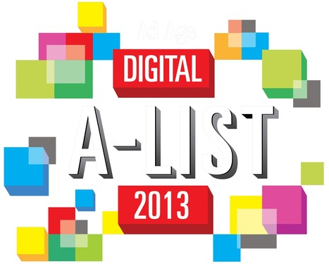 Ad Age Presents the 2013 Digital A-List | DigiDay | Scoop.it