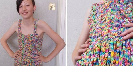 Dress Made Out Of 20,000 Loom Bands Sells For More Than $200,000 | Xposing antiques, rare & unique items | Scoop.it