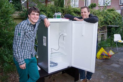 Fridge hacking guide: converting a fridge for fermenting beer - BrewPi.com | Open Source Hardware News | Scoop.it