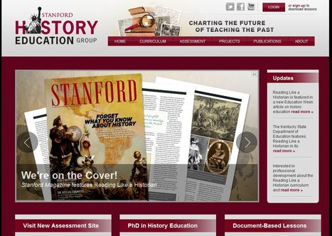Stanford History Education Group | Cool School Ideas | Scoop.it
