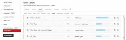YouTube Launches Royalty-Free Audio Library | Teacher Resources for Our Staff | Scoop.it