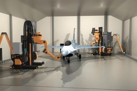 Prototype robots autonomously strip paint from aircraft using lasers | Bots and Drones | Scoop.it