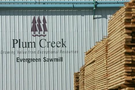 Plum Creek Shareholders Approve Merger with Weyerhaeuser | Timberland Investment | Scoop.it