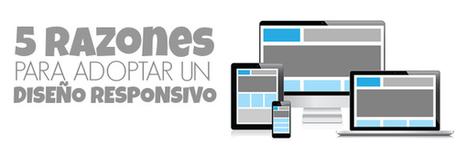 5 RAZONES PARA ADOPTAR UN DISEÑO RESPONSIVO - Ana Alvarez Mas   Claves del Mobile Marketing   Scoop.it