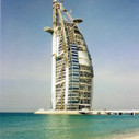 Burj Al Arab Hotel Under Construction in 1998 | Victor, guide touristique a Dubai et dans les Emirats arabes unis pour des visites privées et sur mesure en français. | Scoop.it