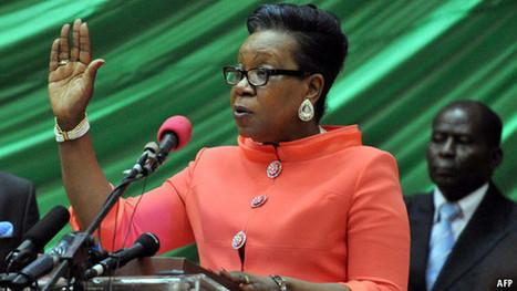 Africa's third female president | CradleLand | Scoop.it