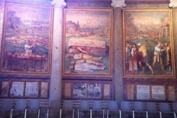 The Martyr Murals at Santo Stefano Rotundo | Atlas Obscura | MBC | Scoop.it