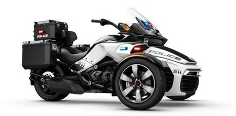 BRP's Spyder kitted up and ready for law enforcement - Clutch and Chrome | Piques My Interest | Scoop.it