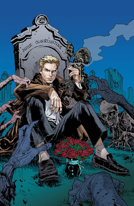 When DC Stopped Constantine Smoking On The Cover Of Issue One | Comic Books | Scoop.it