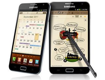 Le Samsung Galaxy Note | Samsung Smartphones | Scoop.it