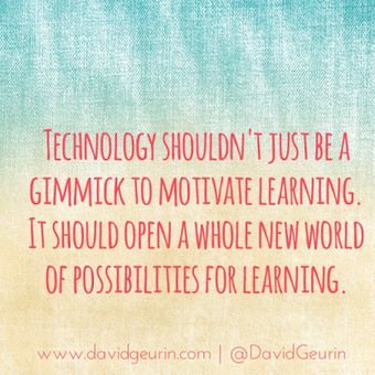The @DavidGeurin Blog: Is It Time To Move Past Tech Integration? | edu-trip | Scoop.it