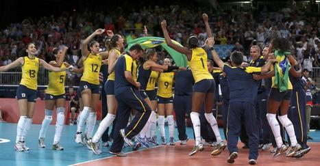 Vôlei feminino brasileiro é o campeão das Olimpiadas de 2012 | Volei | Scoop.it