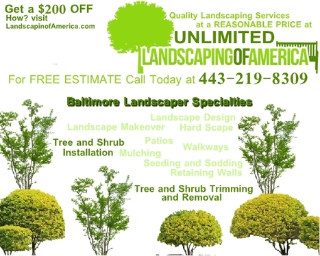 UNLIMITED LANDSCAPING OF AMERICA | $200 OFF LANDSCAPING WORK | Landscape Ideas and Tips | Scoop.it