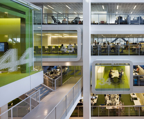 Designing spaces for new ways of working | Office Design News | Scoop.it