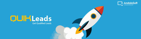 Super Charge Your Sales Pipeline with QuikLeads | Andolasoft | Ruby on rails development | Scoop.it