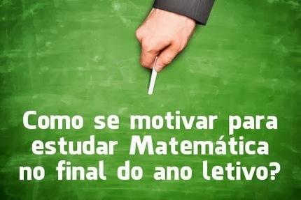 Como se motivar para estudar Matemática no final do ano letivo? - Prof. Edigley Alexandre | Prof. Edigley Alexandre | Scoop.it