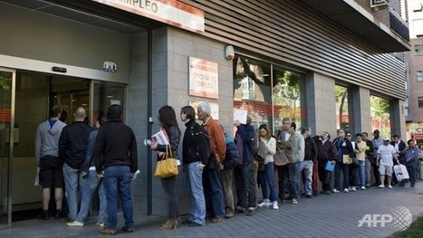 Eurozone jobless rate highest in about 20 years - Channel NewsAsia | CLSG Economics: Macroeconomics | Scoop.it