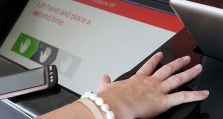 Vodafone utilizing palm vein scanner for smartphone recharging - SlashGear | The *Official AndreasCY* Daily Magazine | Scoop.it
