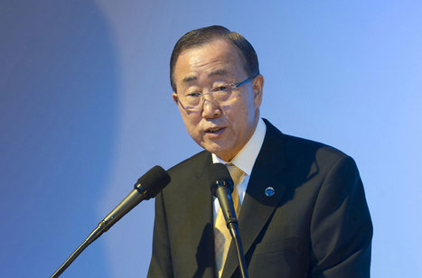 UN Secretary-General supports Egyptian efforts to stop Gaza conflict | Égypt-actus | Scoop.it