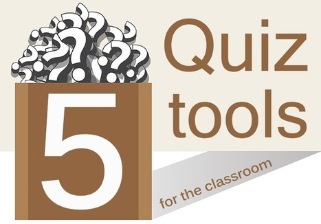 5 Quiz Tools For The Classroom : Professional Learning Board | On education | Scoop.it
