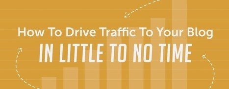 How To Drive Traffic To Your Blog In Little To No Time | B2B Marketing and PR | Scoop.it