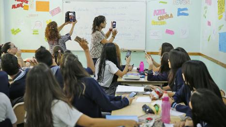 Cómo hacer para que chicos y docentes convivan con celulares en el aula   Educación y TIC en Mza   Scoop.it