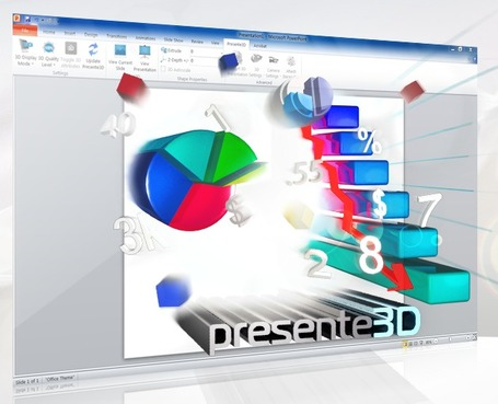 PowerPoint 3D with Presente3D - Easily Convert 2D Presentations to 3D | formation 2.0 | Scoop.it