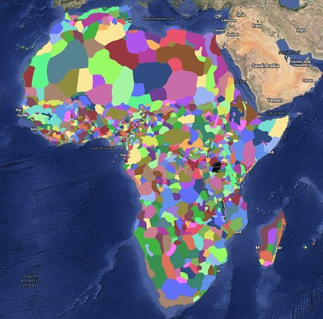 These Amazing Maps Show the True Diversity of Africa | AP Human Geography | Scoop.it