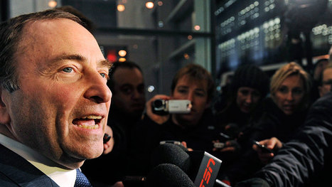 Progress in talks sees NHL, players' union alter plans   NHL Lockout   Scoop.it
