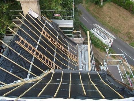 Réfection complète d'une toiture | Des idées pour vos travaux | Scoop.it