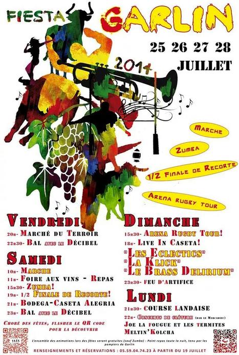 les fêtes de Garlin  2014   vue sur les Pyrenees   Scoop.it