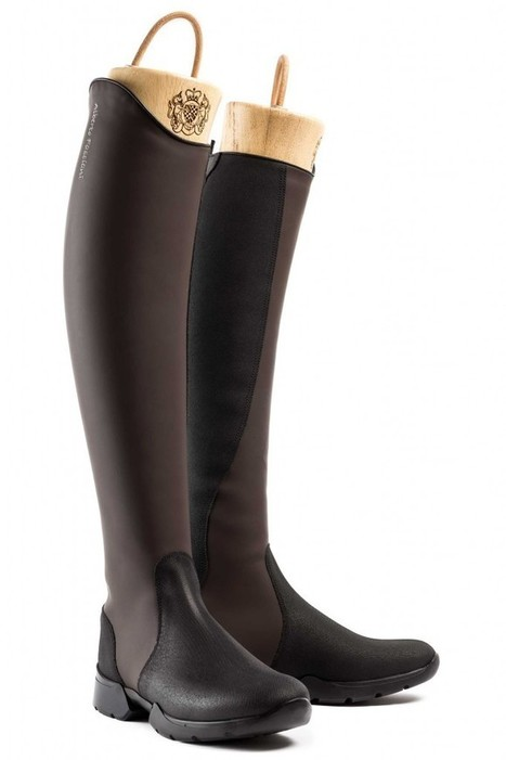 Alberto Fasciani presents PEDASO,Showjumping laceless riding boots. | Le Marche & Fashion | Scoop.it