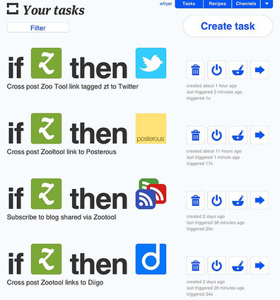 Moving at the Speed of Creativity - Create Clever Information Traps with Zoo Tool, Posterous, & ifttt | Connected Learning | Scoop.it
