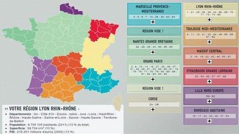 La France à 10 régions et métropoles | Intelligence territoriale et développement durable | Scoop.it