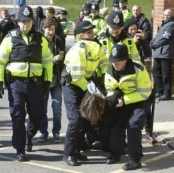 Defend the Right to Protest – Brutal eviction of Sussex students today | Student Protest | Scoop.it