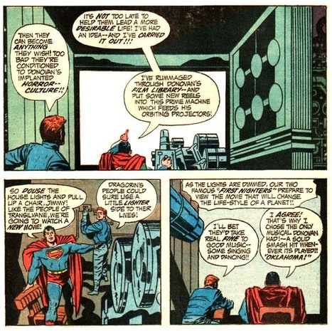 """October is Spookey Month: Jack Kirby pits Jimmy Olsen and his pal ... 