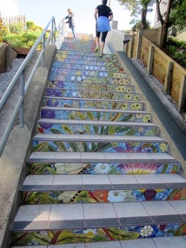 Beautiful Hidden Garden Steps Mosaic | Hidden Garden Steps | Scoop.it