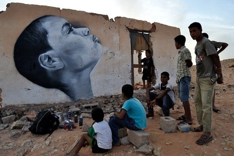 Sahara Desert Street Art For Change - My Modern Metropolis | Other Voices | Scoop.it