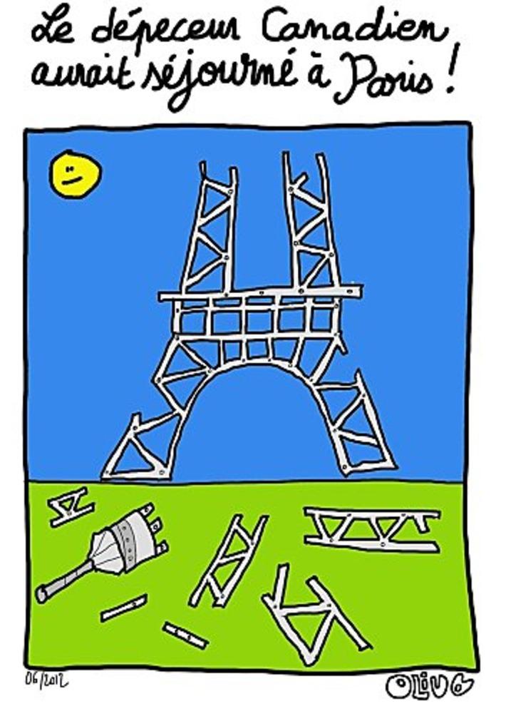 Le dépeceur Canadien aurait séjourné à Paris | Baie d'humour | Scoop.it