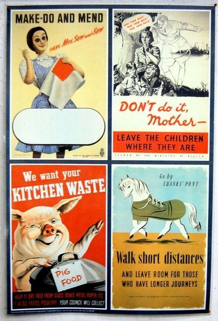 British propaganda on the Home Front – WW2 posters | Shortfinals's ... | World at War | Scoop.it