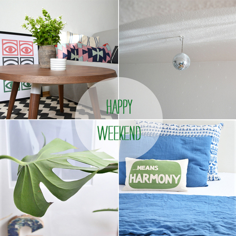 Happy Interior Blog: Ideas For A Happy Weekend | BEAUTY ART | Scoop.it