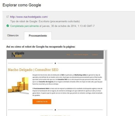 Google apunta al SEO móvil - Nacho Delgado | Web Màrqueting | Scoop.it