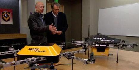 Amazon e i Droni volanti: marketing o futuro?   IL MARKETTARO   Scoop.it