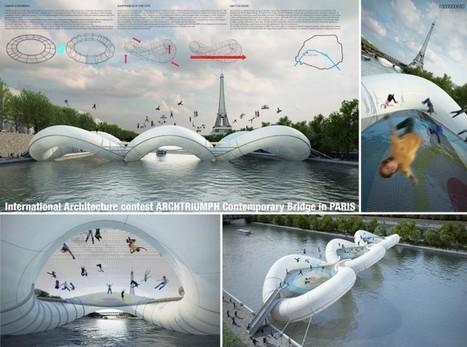 Le Crossing Bridge comme 38ème pont parisien ?   Culture urbanistique   Scoop.it