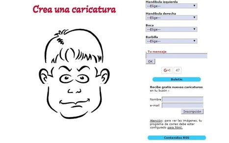 Crear caricaturas online sin tener que dibujar | El rincón de mferna | Scoop.it