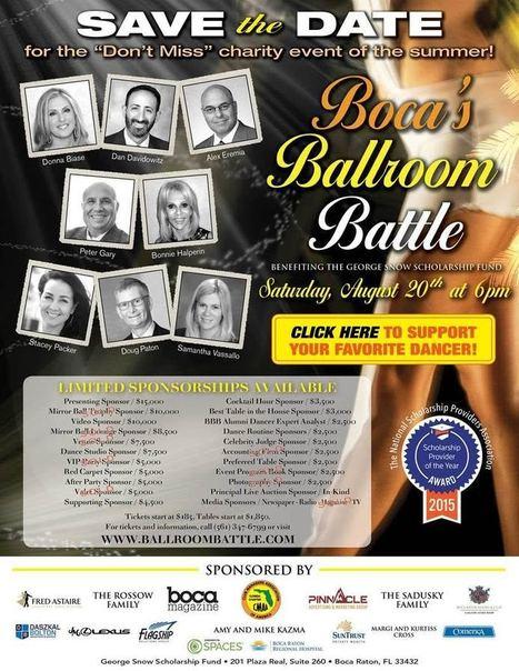 Ninth Annual Boca Ballroom Battle Coming Up Fast   Boca Raton Magazine   Business News & Finance   Scoop.it