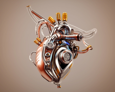 Researchers' Quest for an Artificial Heart - The Crux | Cyborg Lives | Scoop.it