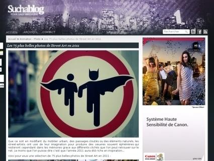 Les 75 plus belles photos de Street Art en 2011 | Mobilier urbain | Scoop.it