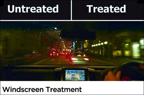 Nano Coatings for Car Windscreen ~ Car Wash and Car Care ... | NanoTechnology Revolution | Scoop.it