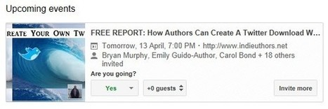 Kindle Authors: Google+ Events - How They Can Help Authors | African-American authors and books | Scoop.it
